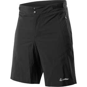 Löffler Tourano Comfort Stretch Light Shorts ciclismo Hombre, black
